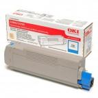 Originale Oki laser toner - ciano - 43324423