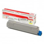 Originale Oki laser toner - giallo - 43487709