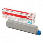 Originale Oki laser toner - ciano - 43487711