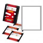Etichetta adesiva - permanente - rettangolare - 142x110 mm - 1 etichetta per foglio - 10 fogli per busta - bianco - Markin