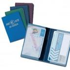 Porta patente europea - con stampa - 2 tasche - Alplast - conf. 24 pezzi