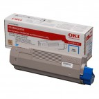Originale Oki laser toner - ciano - 43872307