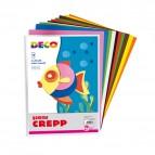Gomma Crepp - 20x30cm - colori assortiti - CWR - Conf. 10 fogli
