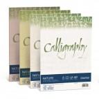 Carta Calligraphy Nature - A4 - 250 gr - verde oliva - Favini - conf. 50 fogli