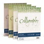 Carta Calligraphy Nature - A4 - 120 gr - mandorla - Favini - conf. 50 fogli