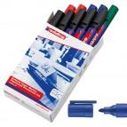 Marcatore a base d'acqua 30  - punta tonda da 1,5mm a 3,0mm - colori assortiti - Edding