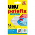 Supporti in gomma adesiva UHU® Patafix - invisibile - UHU® - conf. 56 pezzi