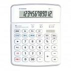 Calcolatrice da tavolo OS 504 - 12 cifre - bianco - Osama