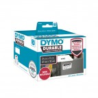 Rotolo 800 etichette LW Durable Industrial - 1933084 - 57x32 mm - carta - bianco - Dymo