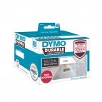 Rotolo 450 etichette LW Durable Industrial - 1933085 - 19x64 mm - carta - bianco - Dymo - conf. 2 rotoli