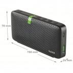 Cassa stereo portatile per conferenza bluetooth leitz
