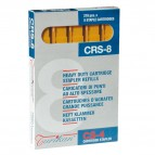 Caricatori CRS6 - 210 punti 8 mm - capacità massima 40 fogli - giallo - Turikan - conf. 5 pezzi