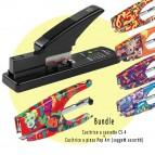 Bundle Cucitrice a cassetta CS-4 + Cucitrice a pinza Pop Art