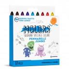 Astuccio 18 pennarelli Molors jumbo - colori assortiti - Osama