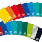 Maxiquaderno One Color - A4 - quadretto 10mm con margine - 18 fogli - 100gr - Blasetti