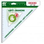 Squadra per Mancini - 45gradi - 30cm - Arda