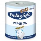 Bobina asciugatutto Classic - 2 veli - 26 cm x 176 mt - diametro 26 cm - 18 gr - microgoffrata - bianco - BulkySoft