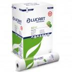 Lenzuolino medico Eco 80 - diametro 14 cm - 59 cm x 80 mt - bianco - Lucart