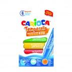 Carioca temperello - colori assortiti - Carioca - astuccio 6 temperelli