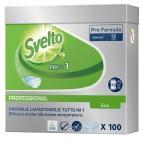 Tabs Eco 3in1 per lavastoviglie - Svelto - fustino da 100 tabs da 20 gr