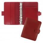 Organiser Metropol Pocket - similpelle - rosso - 14,6 x 11,5 x 3,5mm - Filofax