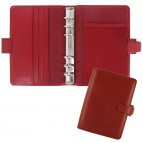 Organiser Metropol Personal - similpelle - rosso - 18,8 x 13,5 x 3,8cm - Filofax