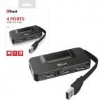 Hub Oila - 4 porte USB 2.0 - Trust