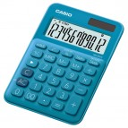 Calcolatrice da tavolo MS-20UC - 12 cifre - blu - Casio