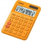 Calcolatrice da tavolo MS-20UC - 12 cifre - arancio - Casio