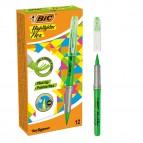 Evidenziatore Flex - verde - Bic - conf. 12 pezzi
