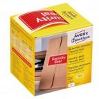 Etichette per spedizioni - icona SECURITY SEAL - 78x38 mm - permanente - rosso - Avery - rotolo da 100 etichette