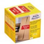 Etichette per spedizioni - icona SECURITY SEAL - 38x20 mm - permanente - rosso - Avery - rotolo da 200 etichette
