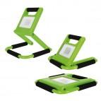 Faro a LED Slim - portatile - ricaricabile - 10 W - MKC