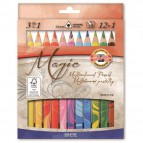 Matite colorate Magic Trio Koh-i-noor - 5,6 mm - 3+ - H3408013 (conf.13)
