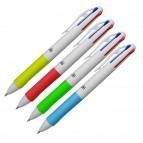 Penna a sfera - punta 1,00mm - 4 colori  - Osama