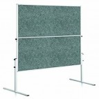 ECONOMY moderation board 150x120 cm grigio Legamaster