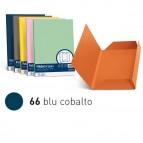 Cartelline 3 lembi Luce - 200gr - 24,5x34,5cm - blu cobalto - Favini - conf. 25 pezzi