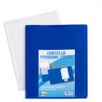 Cartella in PP personal - cover blu - 24x32 cm - Iternet - conf. 5 pezzi