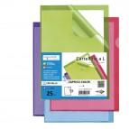 Cartelline a L - 21x29,7 cm - verde - Sei Rota - conf. 25 pezzi