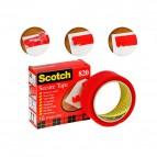 Nastro Scotch® Secure Tape - 35 mm x 33 m - rosso - 93008