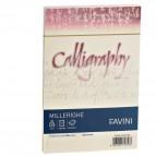 Calligraphy Millerighe Rigato Favini - avorio - buste - 12x18 cm - 100 g - A57Q427 (conf.25)