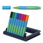 Astuccio sfere XB Link/IT - colori assortiti - Schneider - astuccio 8 colori
