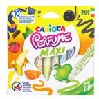 Pennarelli Perfume Maxi - punta 7,0mm - colori assortiti  - Carioca - astuccio 10 pezzi