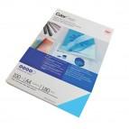 Copertine ColorClear™ per rilegatura - A4 - 180 micron - PVC - blu - GBC - conf. 100 pezzi
