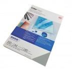Copertine ColorClear™ per rilegatura - A4 - 180 micron - PVC - fumè - GBC - conf. 100 pezzi