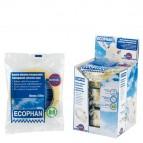 Nastro adesivo Ecophan - 15 mm x 66 mt - in caramella - trasparente - Eurocel