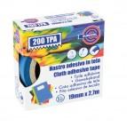 Nastro adesivo telato TPA 200 - 19mm x 2,7 mt - blu - Eurocel