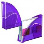 Portariviste 674+H - 27x8,5x31 cm - 24x32 cm - deep purple - Cep