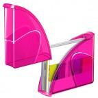 Portariviste 674+H - 27x8,5x31 cm - 24x32 cm - indian pink - Cep
