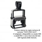 Timbro Professional 5204 - FATTURAZIONE ELETTRONICA - 56x26 mm - Trodat